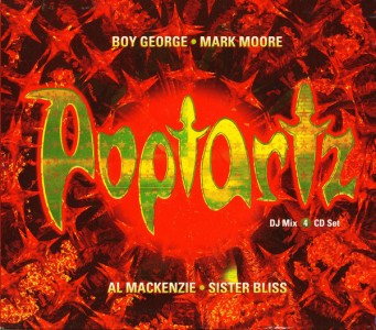 Poptartz CD - REACTCD 67