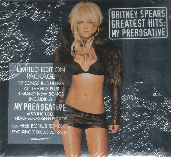 Britney Spears - Greatest Hits My Prerogative Limited Edition CD - 82876658692