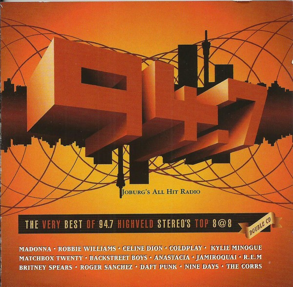 The Very Best Of 94.7 Highveld Stereo's Top 8@8 CD - CDESP130