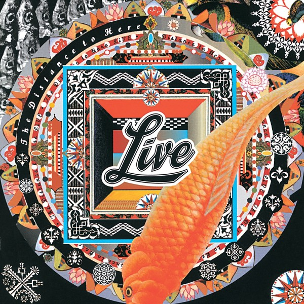 Live - Distance To Here VINYL - 600753763988