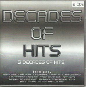 Decades Of Hits CD - DARCD 3071