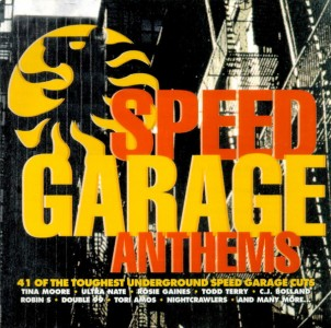 Speed Garage Anthems CD - RADCD78