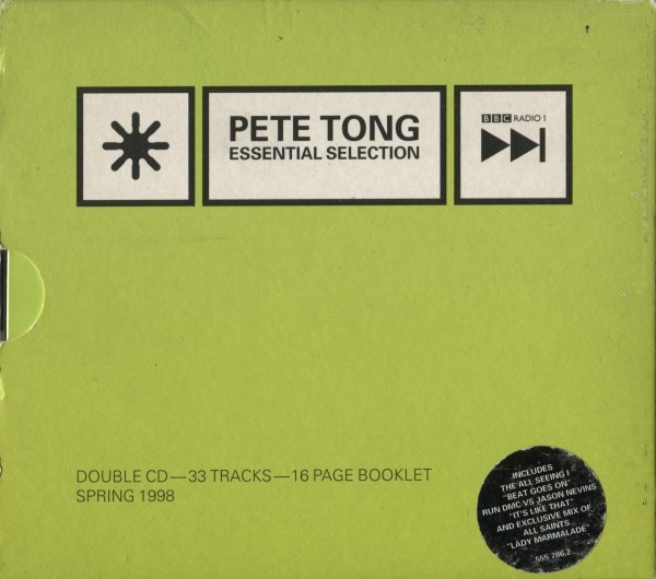 Pete Tong - Essential Selection: Spring 1998 CD - 555786.2