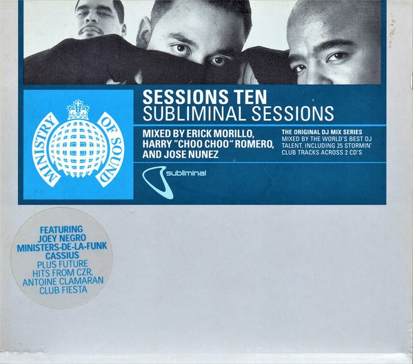 Ministry Of Sound: Sessions Ten - Subliminal Sessions CD - DEFSESS1