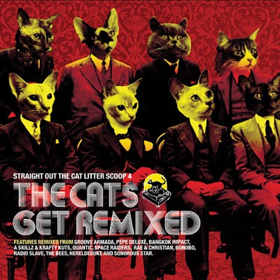 Straight Out The Cat Litter Scoop 4 - The Cats Get Remixed CD - RIDCD011