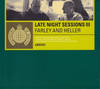 Ministry Of Sound: Late Night Sessions III CD - LNSCD3