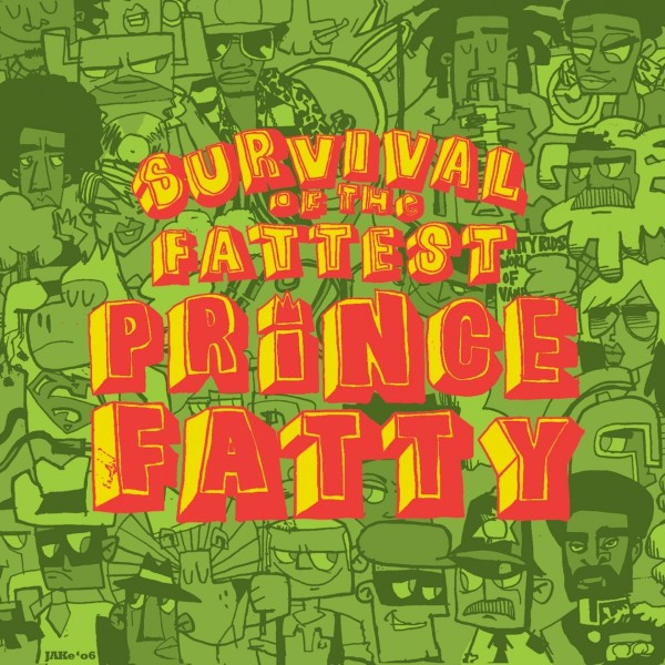 Prince Fatty - Survival Of The Fattest CD - RS-3186-2