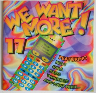 We Want More! 17 CD - CCBK 7423