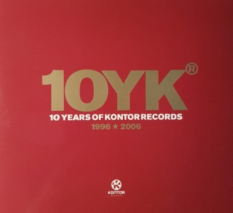 10 Years Of Kontor Records CD - 0178302KON