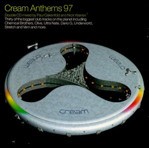 Cream Anthems 97 CD - 74321529622