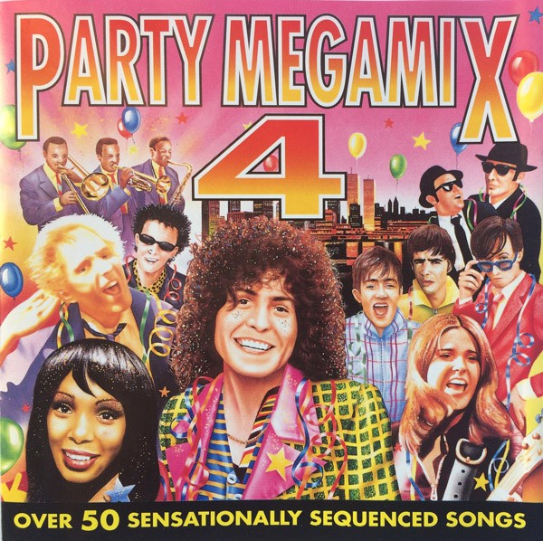 Party Megamix 4 CD - PLATCD 3951