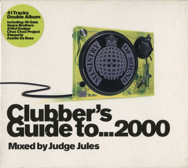 Ministry Of Sound: Clubber's Guide To... 2000 CD - MOSCD7