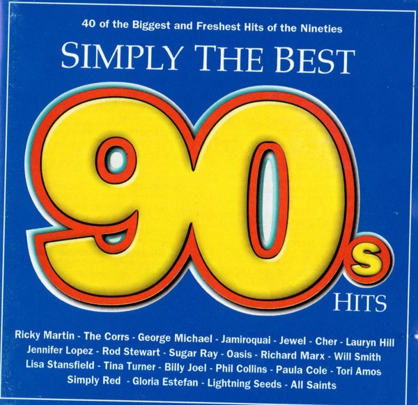 Simply The Best 90s Hits CD - CDESP042