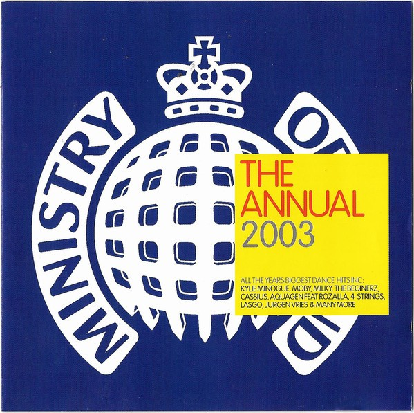 MInistry Of Sound: The Annual 2003 CD - CDMOSD 023