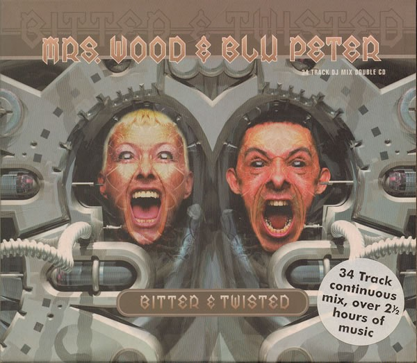 Bitter & Twisted CD - REACT CD 86