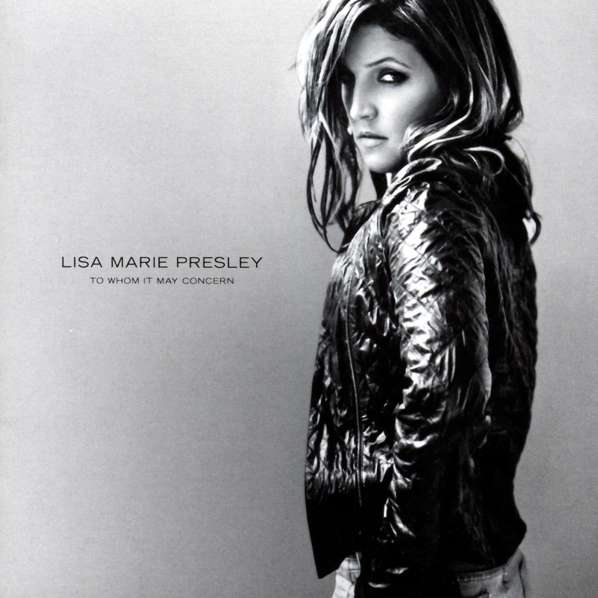 Lisa Marie Presley - To Whom It May Concern CD - CDST 1229