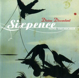 Sixpence None The Richer - Divine Discontent CD - WBCD 2031