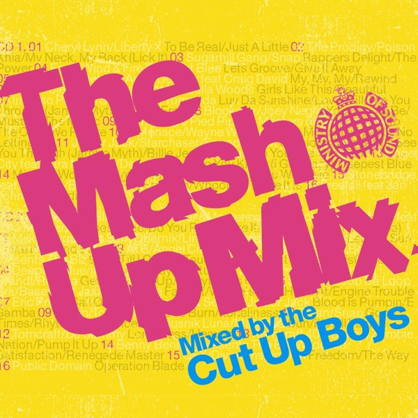Cut Up Boys - The Mash Up Mix CD - MOSCD98