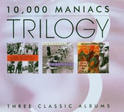 10,000 Maniacs - Trilogy CD - CDWT 1016