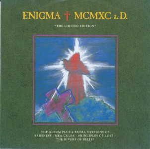 """Enigma - MCMXC a.D. """"The Limited Edition"""" CD - CDVIR 10"""