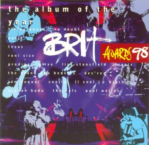 The 1998 Brit Awards CD - CDSM 028