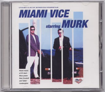 United DJs Of America Presents Miami Vice Starring Murk CD - UNDJACD012