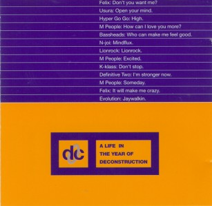 A Life In The Year of Deconstruction CD - 74321131412