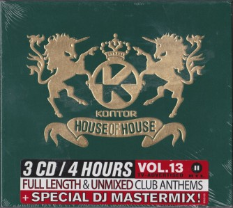 House Of House Volume 13 CD - 1061434KON