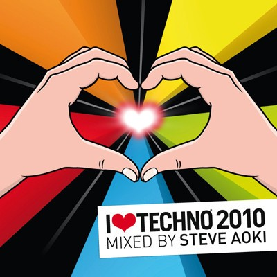 I Love Techno 2010 Mixed By Steve Aoki CD - LLCD8