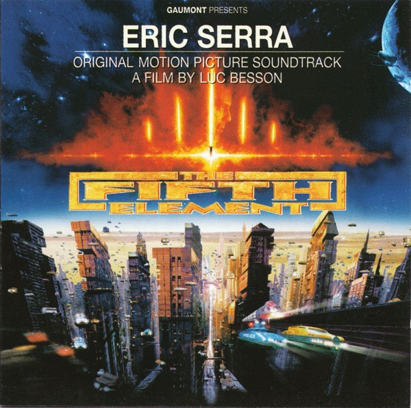 Eric Serra - The Fifth Element (Original Motion Picture Soundtrack) CD - 724384439927