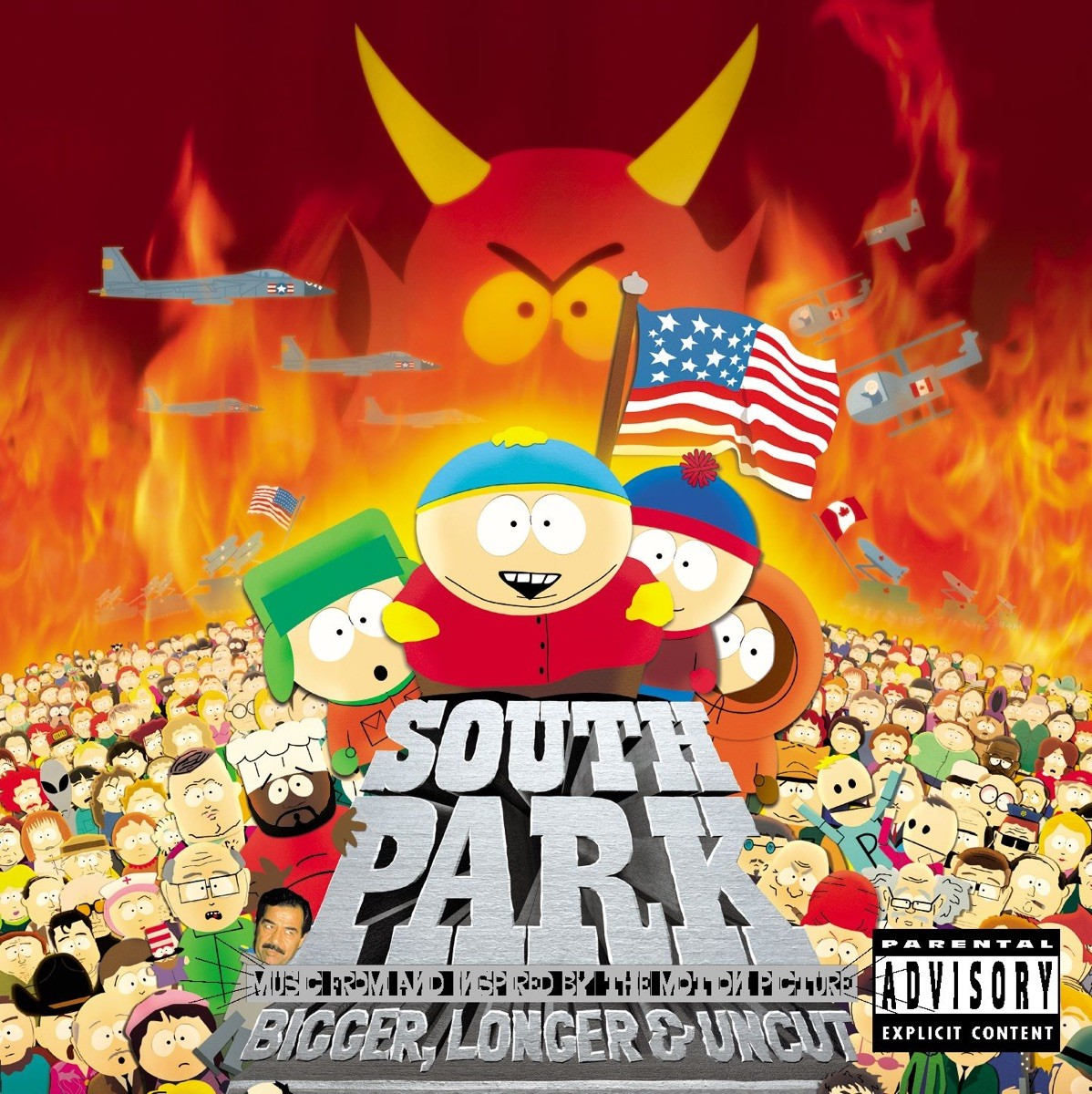 South Park: Bigger, Longer & Uncut (Music from and Inspired by the Motion Picture) CD - ATCD 10075