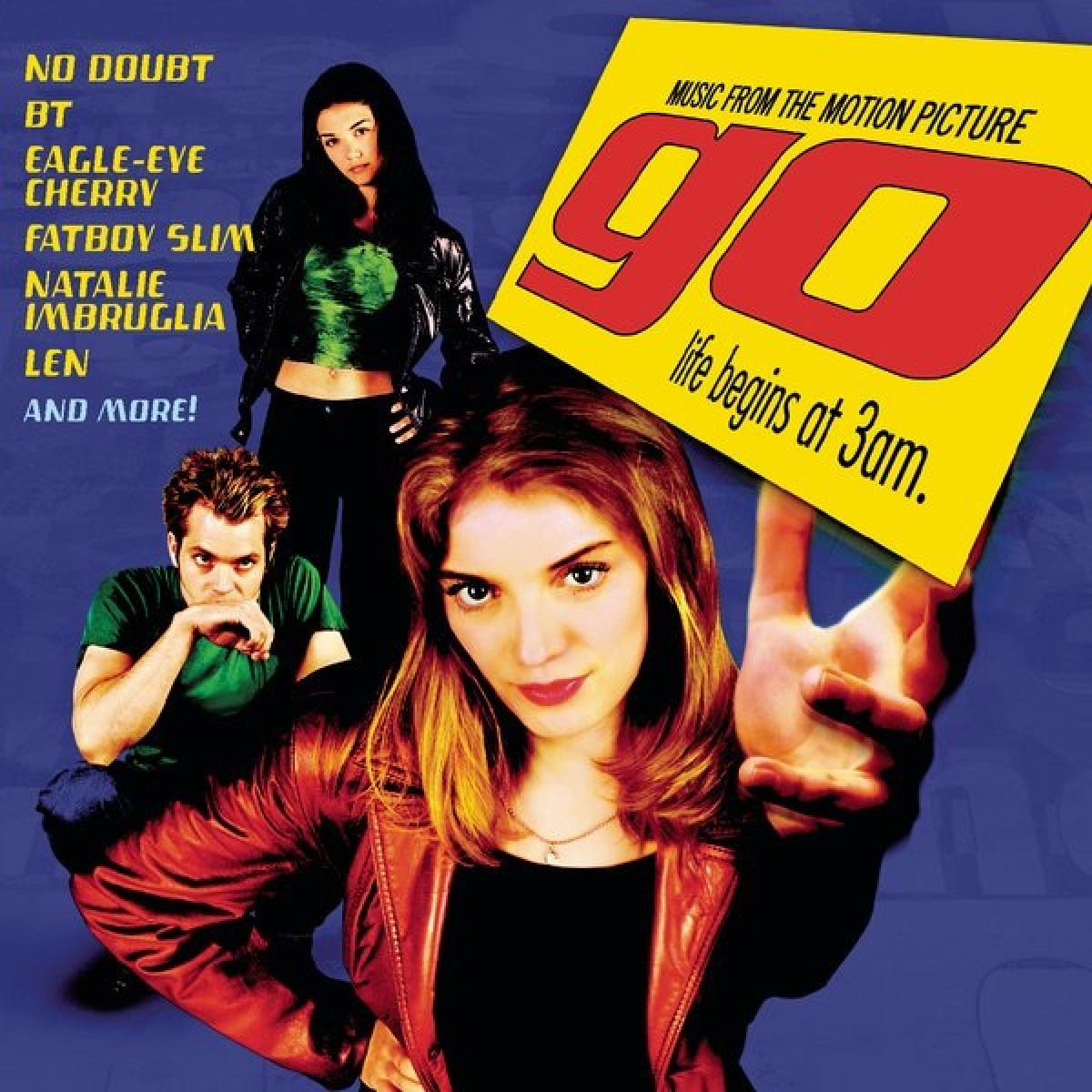 Go (Music From The Motion Picture) CD - CDCOL 5811