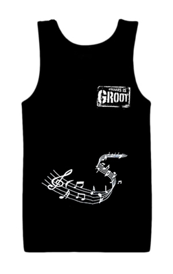 Afrikaans Is Groot Musical Notes Tank Top Large - AIGTML