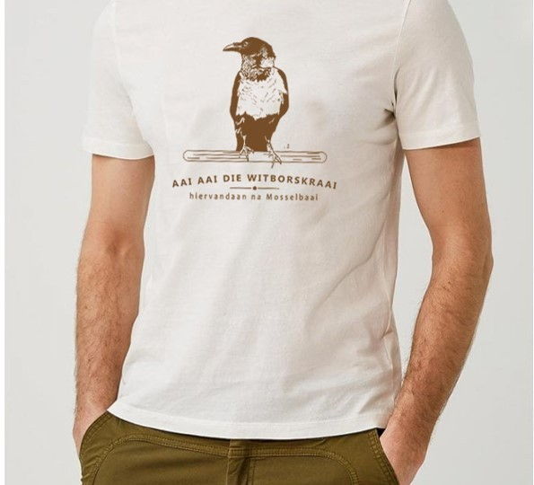 Somerfees White Crow T-Shirt Large - SFWCL