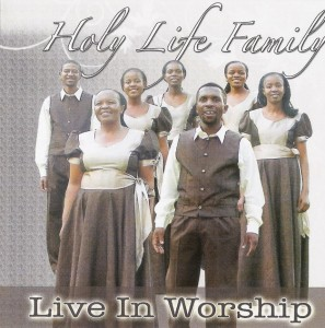 Holy Life Family  - Live In Worship CD - CDHLM333