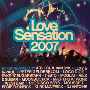 Love Sensation 2007 CD - 0185492KON