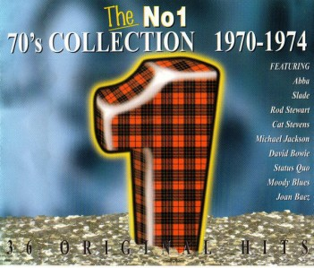 The No 1 70's Collection 1970-1974 CD - DGC 151/151