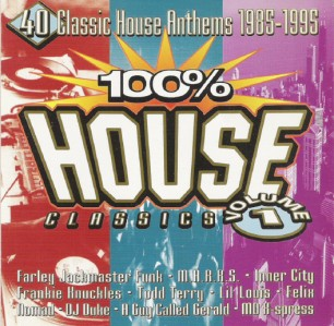 100% House Classics: Volume 1 CD - TCD2759