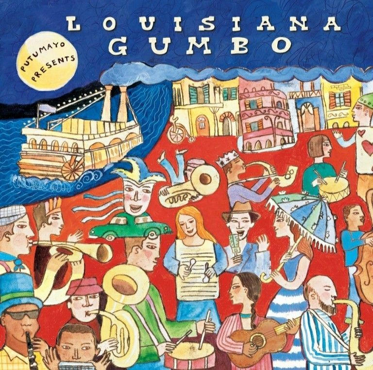 Putumayo Presents: Louisiana Gumbo CD - PUT161