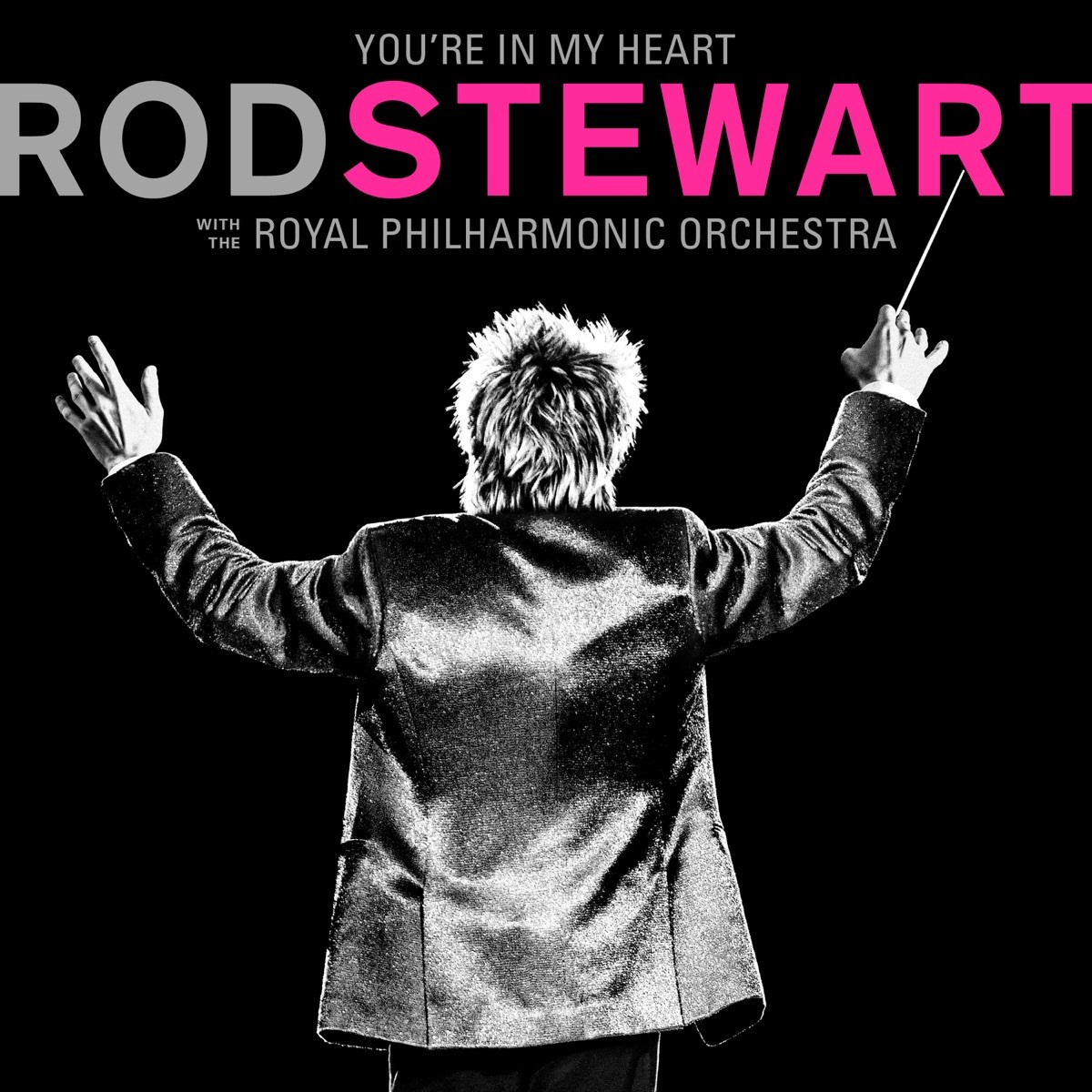 Rod Stewart - You're In My Heart: Rod Stewart (with the Royal Philharmonic Orchestra) CD - 0349784896