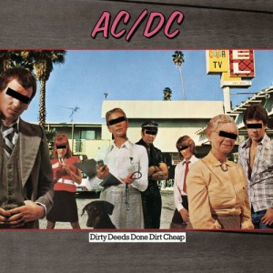 AC/DC - Dirty Deeds Done Dirt Cheap VINYL - 5107601