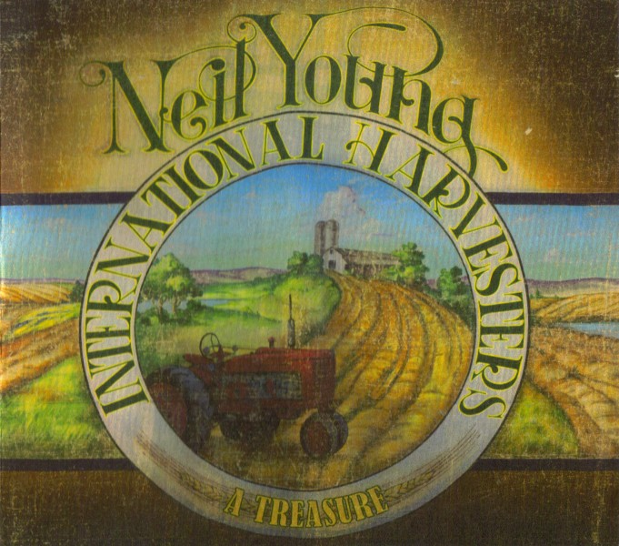 Neil Young & The International Harvesters - A Treasure CD - 9362495793