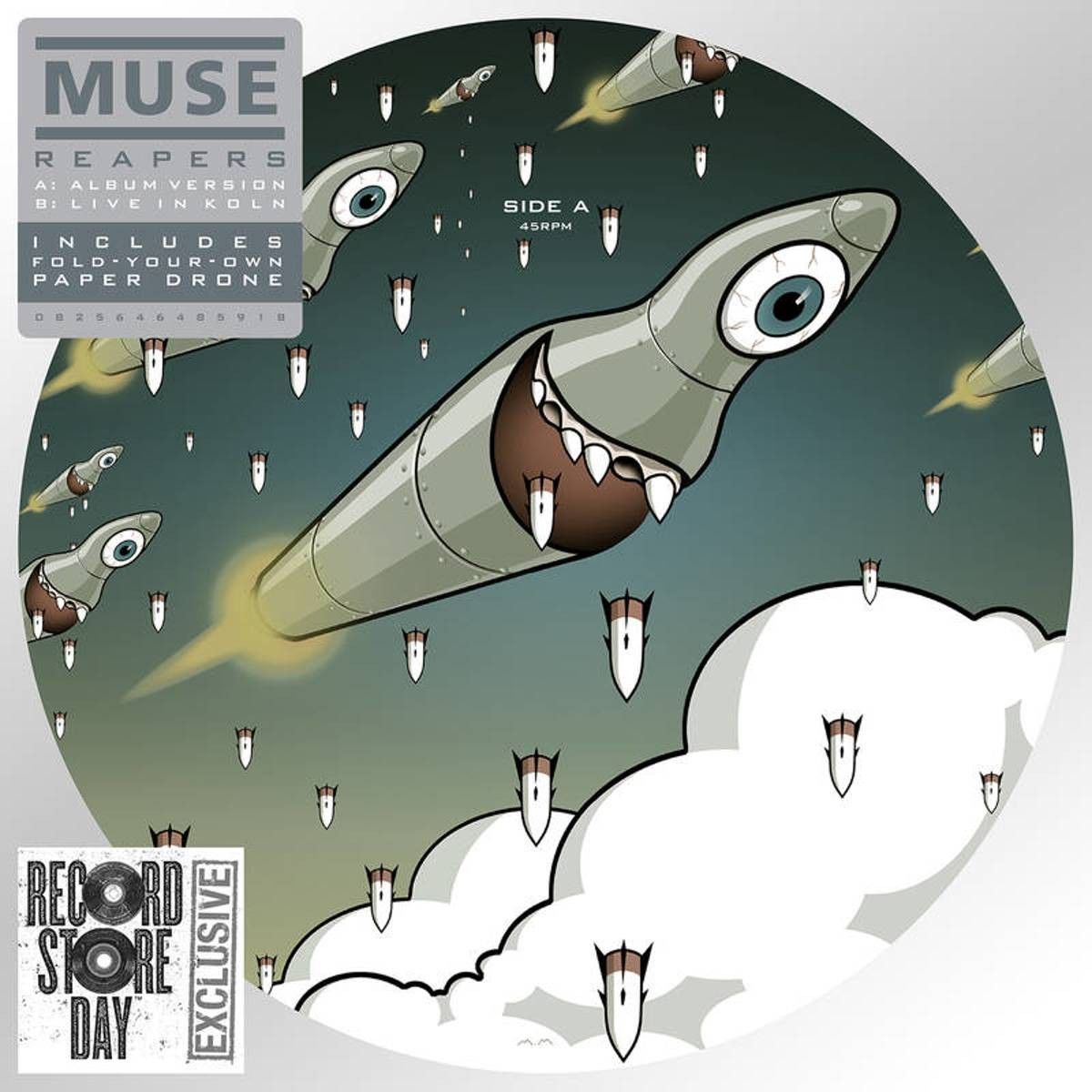 Muse - Reapers VINYL - 2564648591