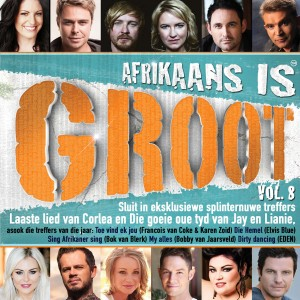 Afrikaans Is Groot Vol.8 CD - CDJUKE 118