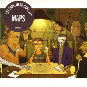Get Cape. Wear Cape. Fly - Maps CD - COOKCD 556