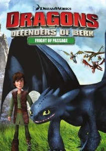 DreamWorks Dragons: Defenders of Berk - Fright Of Passage DVD - 57665 DVDF/2