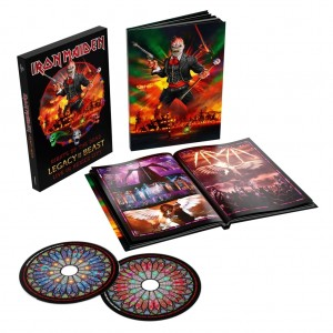 Iron Maiden - Nights of the Dead, Legacy of the Beast: Live in Mexico City (Deluxe Edition) CD - 0190295204716