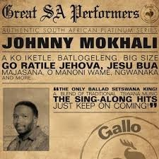 Johnny Mokhali - Great South African Performers CD - CDPS 081
