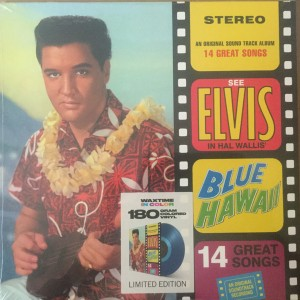 Elvis Presley - In Blue Hawaii (Limited Edition Blue Vinyl) VINYL - 8436559466295