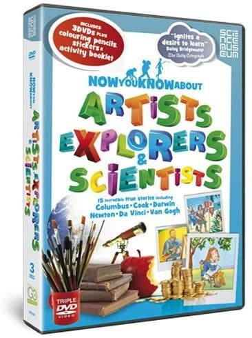 Now You Know About Artists, Explorers and Scientists DVD - GRD2941